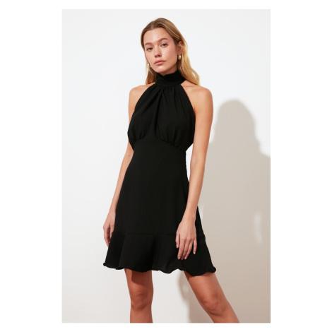 Trendyol Black Halter Neck Dress