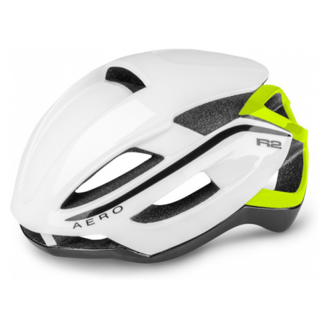 R2 AERO Cyklistická helma ATH09F bílá