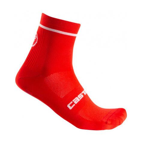 Ponožky Castelli Entrata 9 Sock Red