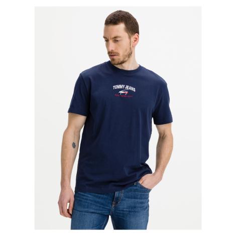 Timeless Triko Tommy Jeans Modrá Tommy Hilfiger