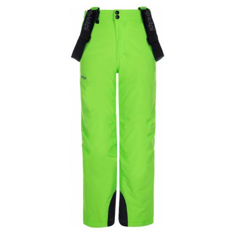 KILPI Chlapecké lyžařské kalhoty METHONE-JB LJ0002KIGRN Zelená