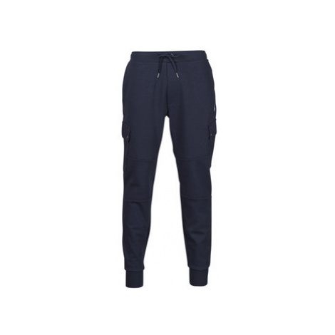 Polo Ralph Lauren PANTALON DE JOGGING CARGO EN DOUBLE KNIT TECH LOGO PONY PLAYER Modrá