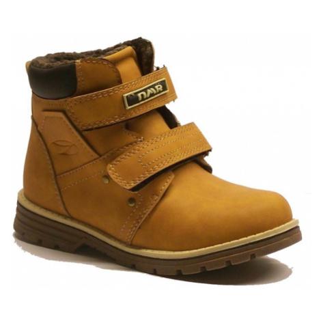 Numero Uno PAJO KIDS béžová - Dětská zimní obuv