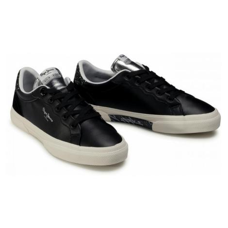 Pepe Jeans Pepe Jeans dámské černé tenisky KENTON CLASSIC
