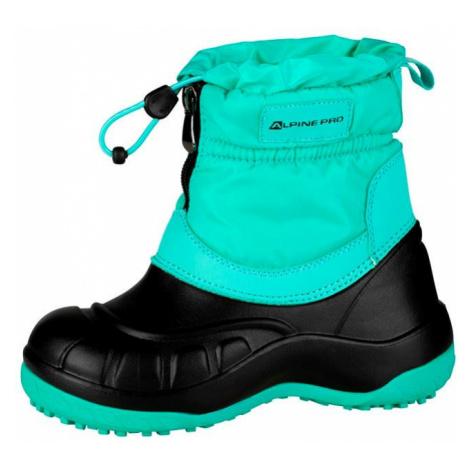 Dětská zimní obuv Alpine Pro SAVIO - zelená