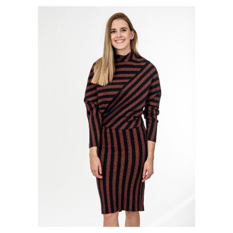 Dvoudílné vlněné šaty - PINKO