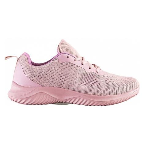 Růžové nazouvací sportovní boty