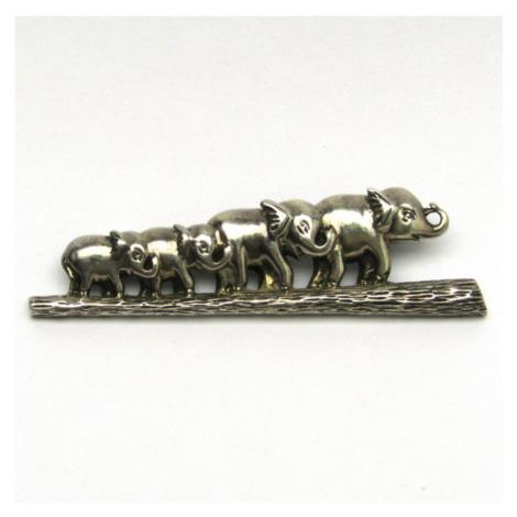 AutorskeSperky.com - Stříbrná brož - S2714