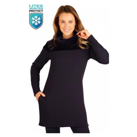 LITEX 7B101 Mikina dámská dlouhá tmavě modrá