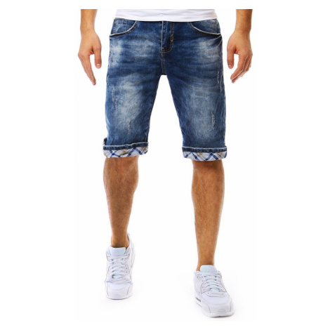 Men's denim shorts blue SX0802 DStreet