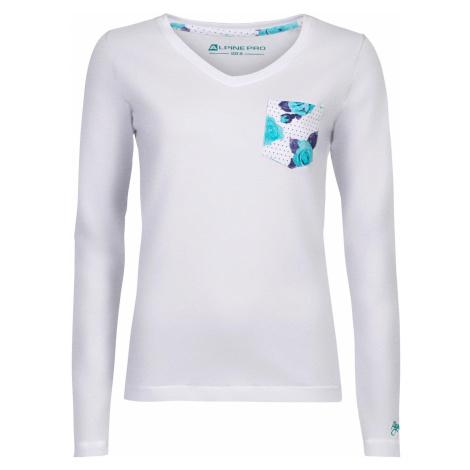 Dámské triko Alpine Pro DILILA 2 - bílá