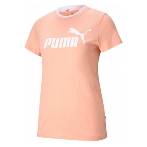 Dámské tričko Puma Amplified Graphic Tee Oranžová