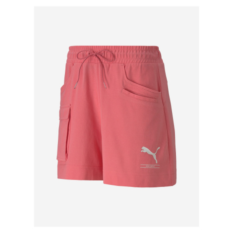 Kraťasy Puma Nu-Tility Shorts Růžová