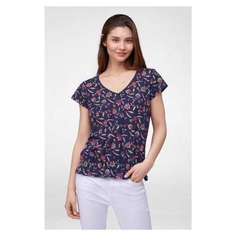 Květované tričko Orsay