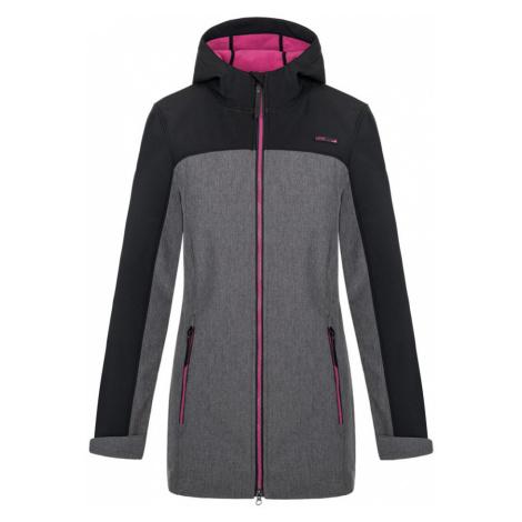 LOAP LYANA Dámský softshellový kabát SFW2018V24XJ Tap Shoe Melange / Pink