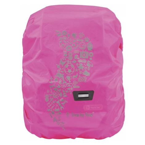 Pláštěnka pro školní aktovku nebo batoh Růžová Hama