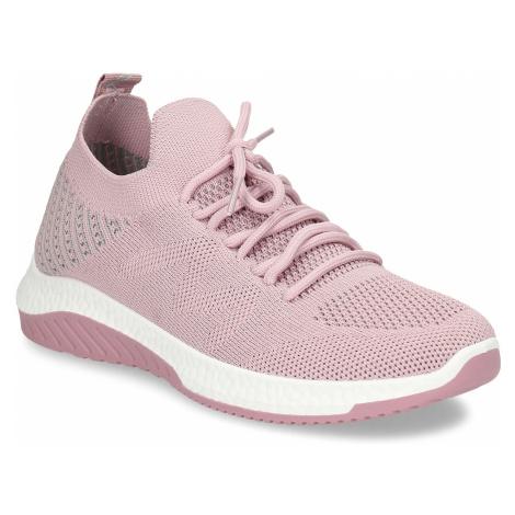 Růžové dámské odlehčené sportovní tenisky Baťa