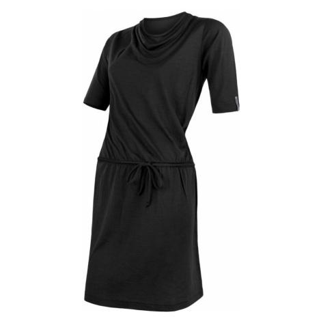 MERINO ACTIVE Dámské sportovní šaty 20100009 černá Sensor