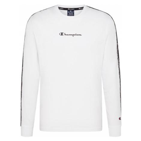 Champion Authentic Athletic Apparel Tričko bílá / černá