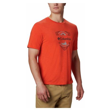 Tričko Columbia Nelson Point™ Graphic Tee M - oranžová