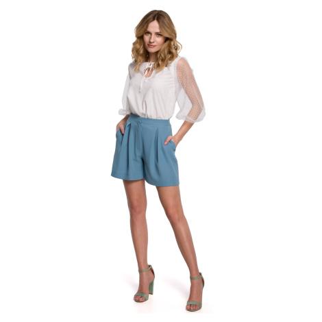 Makover Woman's Shorts K049 Sky