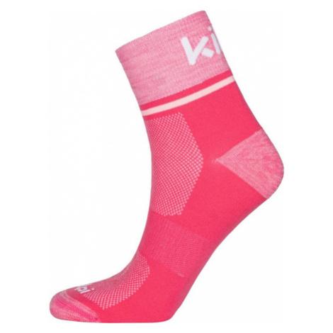 Unisex ponožky KILPI REFTY-U růžová
