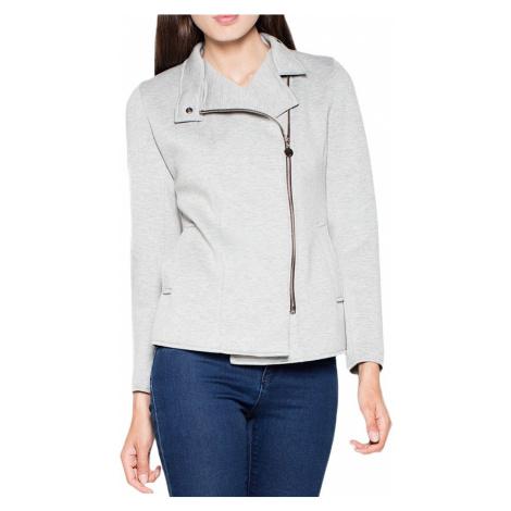 Světle šedá krátká bunda vt034 light grey Venaton