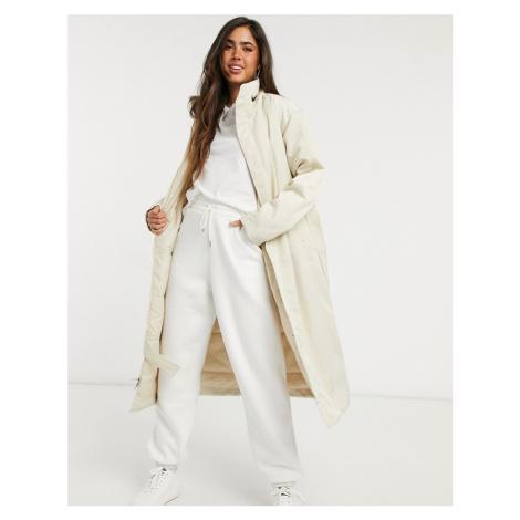Nike trench coat in cream
