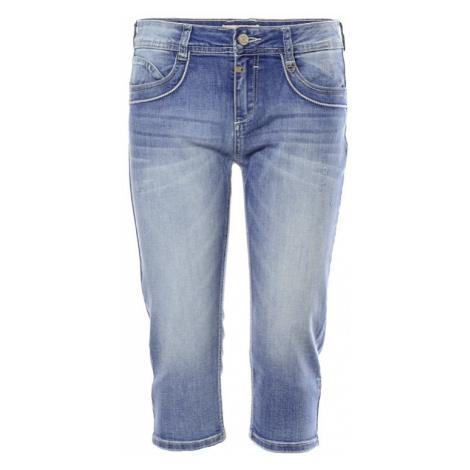 3/4 jeans kalhoty Timezone Malory dámské modré