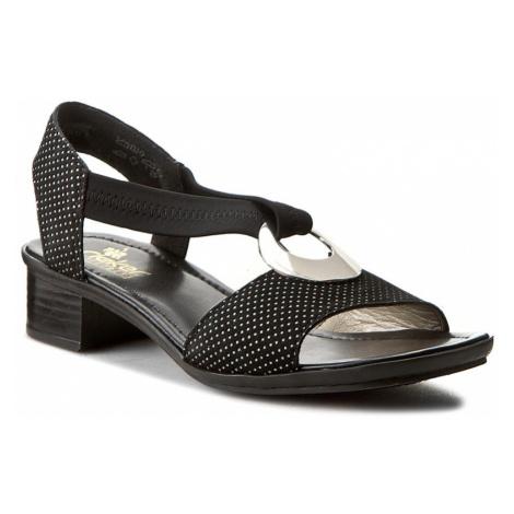 Sandály RIEKER - 62662-02 Black 1