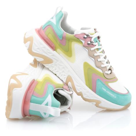 Tenisky Karl Lagerfeld Blaze Pyro Mix Lace - Různobarevná