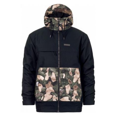 Horsefeathers WILLIS JACKET černá - Pánská lyžařská bunda