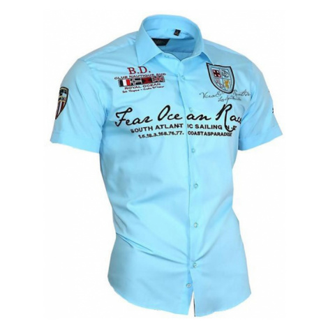 BINDER DE LUXE košile pánská 80603 krátký rukáv