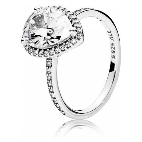 Pandora Oslnivý stříbrný prsten 196251CZ