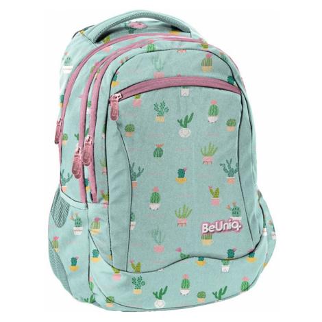BeUniq Školní batoh Mint
