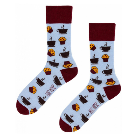 Ponožky Spox Sox - Káva a muffiny multikolor
