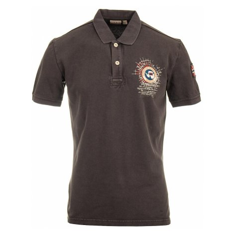 Napapijri pánské polo tričko šedé