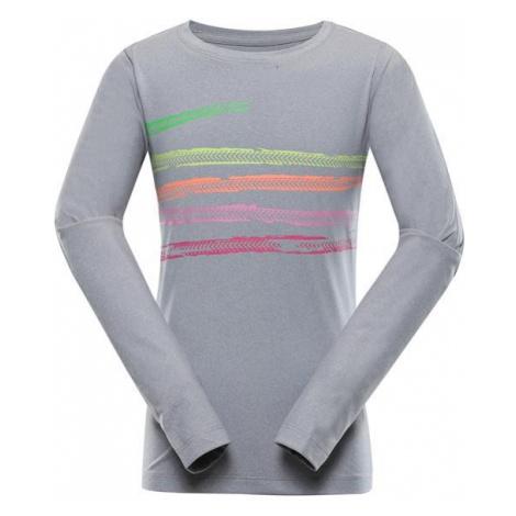 Teofilo 10 růžová dětské rychleschnoucí triko ALPINE PRO