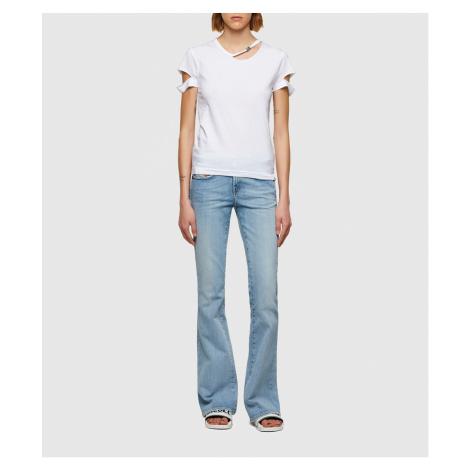 Tričko Diesel T-Bullock T-Shirt - Bílá