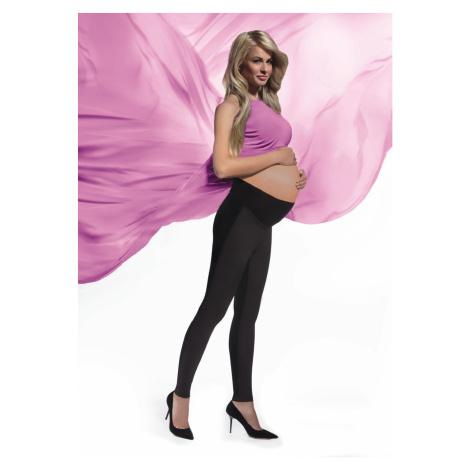 Těhotenské legíny Bas Bleu Ami Černá