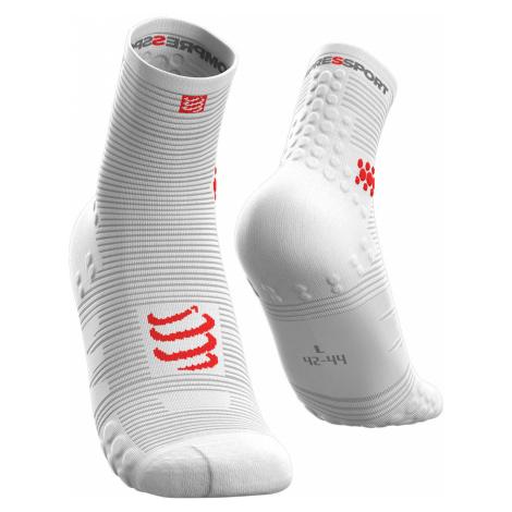 Ponožky Compressport PRO RACING SOCKS V3.0 bílá