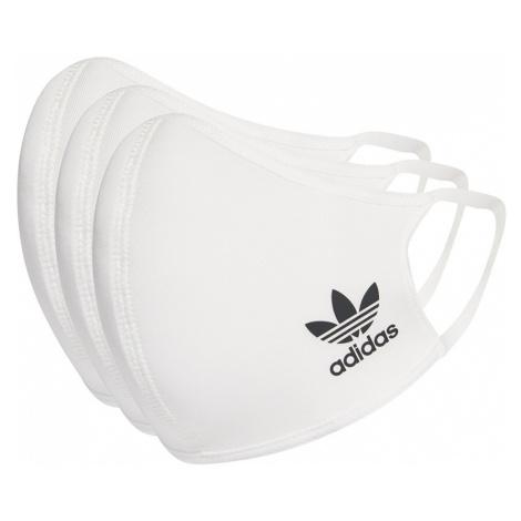 Adidas Face Covers M/L 3-pack bílé HB7850
