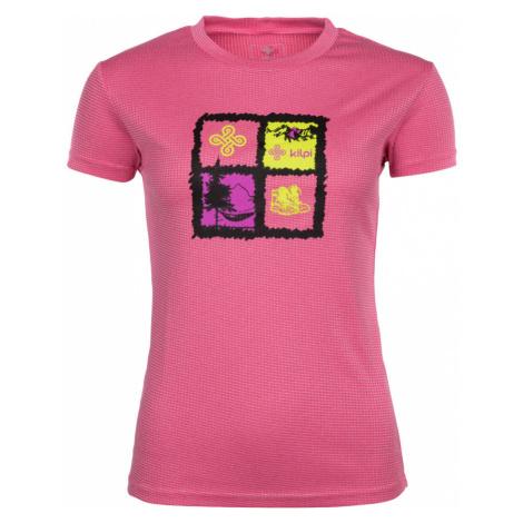 KILPI Dámské funkční tričko GIACINTO-W IL0047KIPNK Růžová