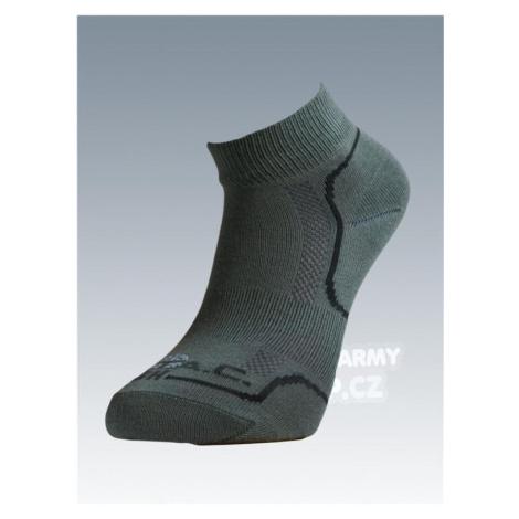 Ponožky se stříbrem Batac Classic short - oliv