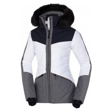 NORTHFINDER DREWINESTA Dámská lyžařská bunda BU-47941SNW279 černá bílá