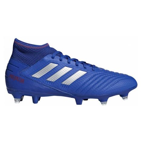 Kopačky adidas PREDATOR 19.3 SG Modrá / Stříbrná