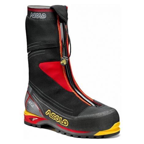 Pánské boty ASOLO Mont Blanc GV black/red UK