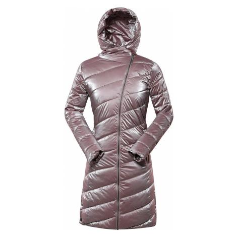 Dámský zimní kabát Alpine Pro OMEGA 4 - světle růžová