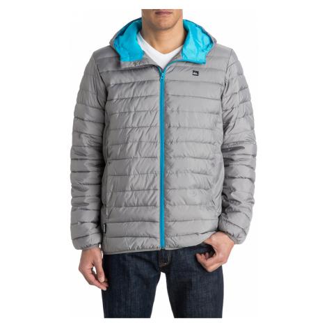 Pánská bunda s modrým zipem Quiksilver