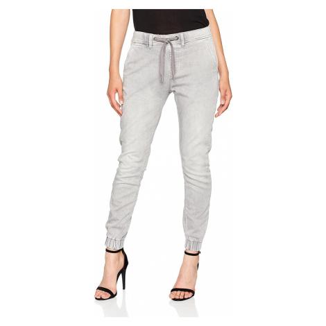 Pepe Jeans dámské šedé džíny Cosie